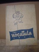 Tennessee Wesleyan College 1951 Yearbook. Nocatula. This was TWC... In Fifty-One.