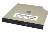 Dell Slimline 0033DR CDROM Drive with faceplate. REV A02. DP/N ID-003GDR-48220-17A. C/O. Used. Pulled from working laptops. Optiplex GX240 GX260.