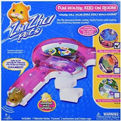 Zhu Zhu Pets. 86603 Fun House Add on Room. New. Connects all Zhu Zhu Hamster Track Systems. The Disco Room. Cepia. 877799004706.