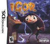 SouthPeak iGor The Game for PC. DVD. Model: 50021. UPC: 612561500211. Adventure through the Kingdom of Malaria, where Igor and his 3 companions Scamper, Brain, and Eva.