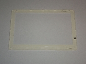"Averatec 50-034120-00 1000 1100 WXGA 10.6"" LCD Front Bezel. Silver. Refurbished. Pulled from a working laptop."