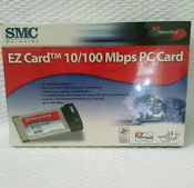 SMC Networks EZ Card 10/100 Mbps PC Card. Model: SMC8041TX. UPC: 662698701203