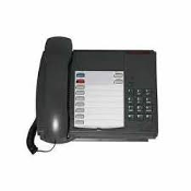 Mitel Superset 4001 9132-001-200. New. Features: Speed calling, Place calls on hold, Transferring calls, Setting up conference calls, Voice mail access, Large message waiting lamp, Seven programmable keys,