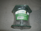 TrueLiving Outdoors. Small Bird Feeder with Hanging Strap. . New. 14 oz. (413 ml) 400026256892. 512. Green and Clear Plastic.