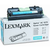 Lexmark 1361752 Cyan Laser Toner Cartridge, New. OEM. Designed to work for Optra SC 1275, Optra SC 1275N, Optra SC 1275n Solaris. C711401D. UPC: 734646124935.
