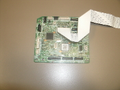 HP RM1-8704 DC Controller Board with Ribbon Cable. Refurbished. RM1-8704-000. Pulled from a working LaserJet Pro 200. RM1-8704-000CN.