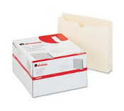 "Universal 76300 File Jackets. 50 Files Per Box. New. Retail Box. 2"" Expansion. Letter Size. 087547763001"