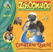 Zoboomafoo with the Kraft Brothers. Creature Quest. 671196024219