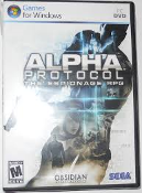 Alpha Protocol. The Espionage. RPG. Sega. Used. Mature 17+. Obsidian Entertainment. Games for Windows. PC DVD. 010086852288.