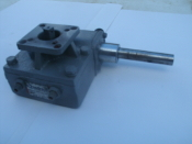 "Quadrant DG8-F07/F10-17MM/17MM-12 Actuator Valve. Used. BFW Size: 6"". BFV Stem Square: 17MM. Quadrant Valve and Actuator."