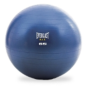 Everlast EX3068BL 65cm Burst Resistant Fitness Ball. 654602930687. Blue. New. Box Is In Poor Shape. P00000421