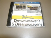 Professor Teaches Dreamweaver 3 and Dreamweaver 4. New. CD-ROM.