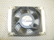 "Tobishi U4201 Case Fan. Used. 4 1/2"" X 4 1/2"". 100 VAC, 50/60Hz. Missing wire Connectors."