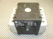 IEC 947-3 600V Pole Switch, VDE 0660. Used. 600V, 100A, 125A.