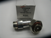 Andrew F4DR-C DIN Male Right Angle Connector. New. 8500-408, ANC-F4DR-C. ASZP-1043F/H. 60818673.