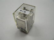 Ormon MY2 Power Relay. Working Pull. 1575YU, DPDT, 120 VAC, 5A, MY Series. Socket, Non Latching.