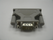 APC 940-0017A, DB9 Male, to DB25 Female Universal Serial Adapter. New. Grey.