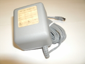 FE-AC Adaptor U3592F. Input: 120VAC 60Hz 8.4W. New. Output: 12V DC 400mA. Listed E124946. 3H20. Plug-In Class 2 Transformer.