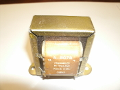 Stancor A-8078 Audio Transformer. Voice Coil. New. 30 Watts, Impedance in OHMS, Primary: 167/250/500/1000. Secondary: 4/8/16,