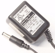 Foreen Industries 28-D09-100 AC DC Adapter. New. Direct Plug-in Class 2 Transformer. Input: AC120V, 60Hz 2W, Output: DC9V, 100mA. Listed 76Z9, E117258.