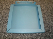 "Siemens 66.1000.197-01 Panel. WIP-IN, New. Blue. 9"" H X 9 1/2"" H 1"" W. 4012166774."