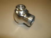"Sloan H-584, H-600, H-700 Stop Valve Angle. Chrome. New. 1""."