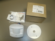 WattStopper CX-105-1 PIR Occupancy Sensor. New. 754182911400. White. Dense Wide Angle Lens. +24VDC, Tr 1542, 03698r3. 8mA, Swivel Bracket and Junction Box Cover Plate.