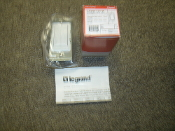 WattStopper LVSW-101-W Low Voltage Switch. White. New. Legrand LVSW-101-W. 1 Button With LED. 754182931309.