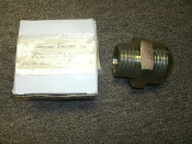 "Double Male Adapter 100001-038 Pipe. New. STR: Male 37 FLR. STL. 1-1/2/ 2.000. 21-24-32S. Inside: 1 3/4"" X 1 1/2"". 3"" Lenght."
