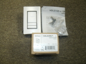 Wattstopper HDLS2SS-7 Dual Dataline Switch. New. White. 754182102716. 2 Button with 2 Spares. 1 Master. Tr 1604, T 05.