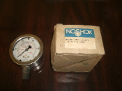 Noshok 25.901.1500 PSI/KPA 1/4 Bottom Connection. Used. Working Pull. Free Shipping.