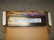 "Advance Philips VEL-2S86 Electronic Ballast, 2-Lamp. New. 277V, 60Hz, No PCB's. For 2-96"" TB or 2-72"" T8."