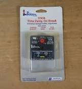 Beacon 460-0002. TDOB: Time Delay on Break Timer. 4600002. New. E314894. .03 to 10 Minutes. International Refrigeration Products. Load 1.5 AMP MAX. Imput: 18-240. Replaces: ICM203B, EAC50, TD73, 3310-072, 32392, AC-503,