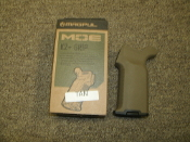 Magpul MAG532-FDE, Moe K2+ Grip. Tan. 873750001319. 180302. Drop in Upgrade for AR15 and M4 Pistol Grip.