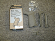 Magpul MAG520-FDE MIAD Gen 1.1. MIssion ADaptable. Drop in Upgrade for AR15, M4, SR-25, M110, AR10 in both 5.56 and 7.62 configurations. Type: 1. 873750008059. 161277.
