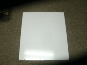 "Hoffman A18P16 Panel For Enclosure, 16.75"" x 14.88"". New. 783510584801. Steel, Polyester Powder Paint, White, 14 Gauge."
