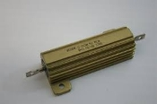 Dale RH-50. 50W Vishay Wirewound Resistor. Chassis Mount. New. 5 Olms. 1%. M10101.