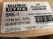"Duro Dyne 7378, RE516-516 5/16"" Slide Rapit Extension. New. 5079758231786. (100 Count)"