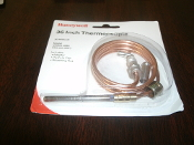 "Honeywell Q390A 1061 Universal Thermocouple. New. 30 Millivolt. 914mm, 36"". 085267069281. Q390A1061 White-Rodgers. H06E-536, H06E-36. Robertshaw: 1970-36, 1980-36. Husky: K16BT-36. Johnson Controls: K19AT-36"