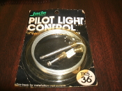 "Jade TK5 36"" Controls Pilot Light Control Universal Thermocouples. New. Retail Package."