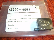 Micro Switch MS16106-1, 2AC59 Switch. 9710. New. TI MFAB Part Number: 83860-0001. MicroSwitch MS16106-1.