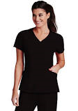 Barco One V-Neck 5105. Black. New. X-Large. Princess Perf Panel. 883884958090.