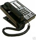 AT&T BIS 10 Black Business Telephone. 10 Buttons with LED indicators.