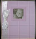 "Penny Laine Papers. New. Babybook15. Baby girl book. Includes family tree, keepsake envelope and lots of room for family history and special photos. 10""x11.5"". 613540302963."